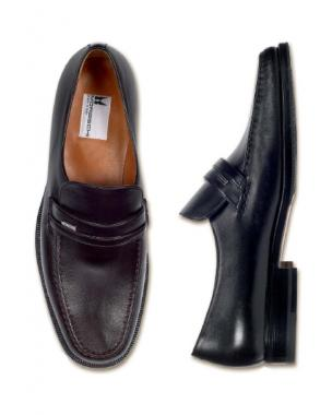 Moreschi Nappa Loafers Dark Brown Image