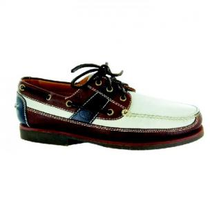 Neil M Bridgeport Boat Shoes Multicolor Image