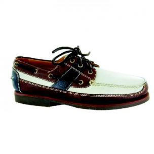 Neil M Bridgeport Boat Shoes Multicolor Image
