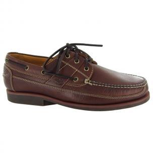 Neil M Bridgeport Boat Shoes Tan Image