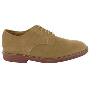 Neil M Cambridge Nubuck Shoes Tan Buck Image