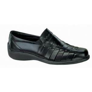 Neil M Capri Woven Shoes Black Image