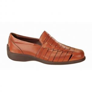 Neil M Capri Woven Shoes Whiskey Image