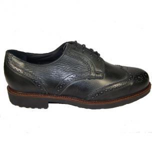 Neil M Conway Wingtip Shoes Vintage Black Image