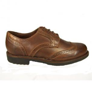 Neil M Conway Wingtip Shoes Worn Saddle Image