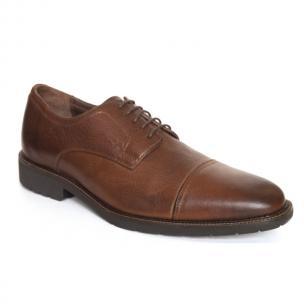 Neil M Phoenix Cap Toe Shoes Vintage Saddle Image