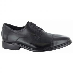 Neil M Senator Cap Toe Shoes Black Image