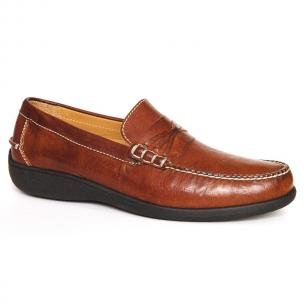 Neil M Truman Loafers Chestnut Image