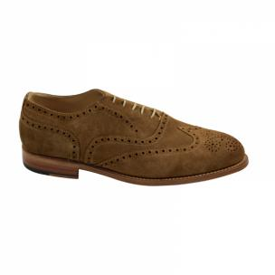 Nettleton Fayetteville Goodyear Welted Wingtip Brogues Tobacco Image