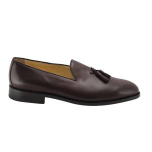Nettleton Greenwich Goodyear Welted Tassel Loafers Burgundy Image
