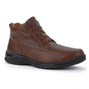 Oasis Shoes Mens Jackson Comfort Boots Brown Image