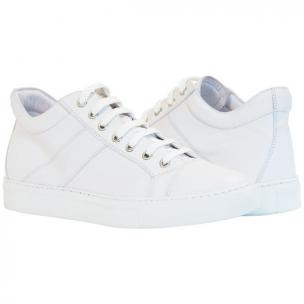 Paolo Shoes Seth Low Top Sneakers White Image
