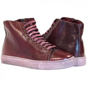Paolo Shoes Shawn High Top Sneakers Liver Image
