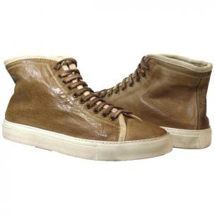 Paolo Shoes Stuart High Top Sneakers Rope / Beige Image