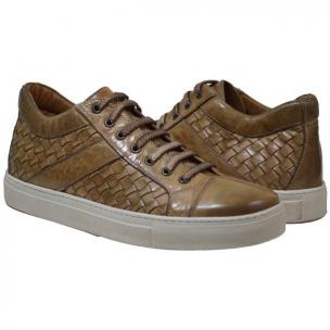 Paolo Shoes Tyler Woven Sneakers Rope Image