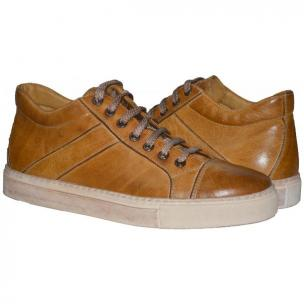Paolo Shoes Winston Low Top Sneakers Mahogany Image