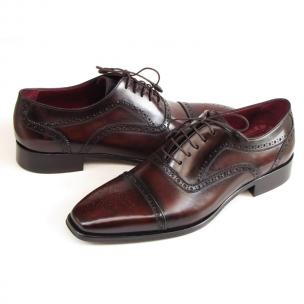 Paul Parkman Cap Toe Brogues Bordeaux Image