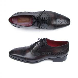 Paul Parkman Cap Toe Brogues Bronze / Black Image