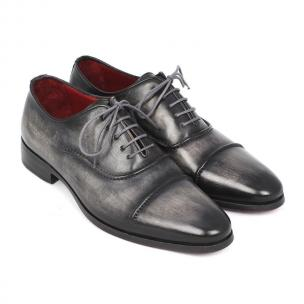 Paul Parkman Cap Toe Oxfords Black / Gray Image