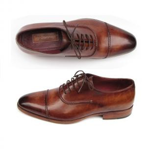 Paul Parkman Cap Toe Oxfords Brown Image