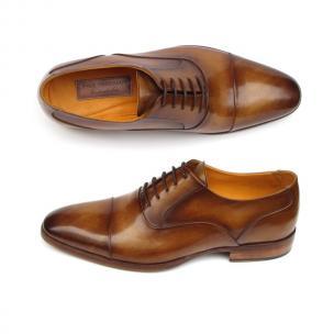 Paul Parkman Cap Toe Oxfords Brown Image