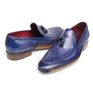Paul Parkman Tassel Loafers Blue / Purple Image