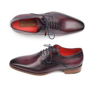 Paul Parkman Plain Toe Oxfords Purple Image