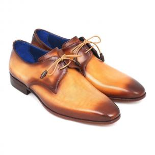 Paul Parkman Plain Toe Shoes Camel / Brown Image