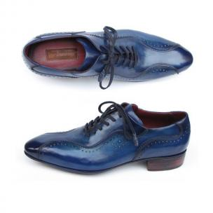 Paul Parkman Sport Casual Oxfords Blue Image