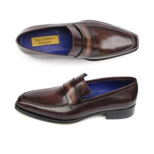 Paul Parkman Strap Loafers Bronze Image