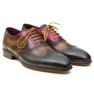 Paul Parkman Three Tone Wingtip Brogues Image