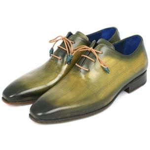 Paul Parkman Wholecut Oxfords Green Image
