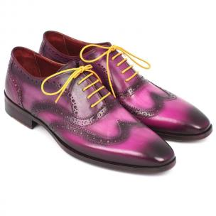 Paul Parkman Wingtip Oxfords Lilac Image