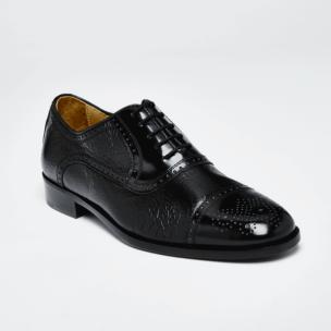 Zelli San Martin Pecarry Lace-Up Black Image