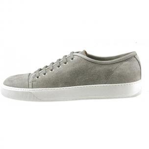Santoni Acadia DR8 Suede Sneakers Gray Image