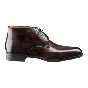Santoni Andale CN3 Chukka Boots Brown Image