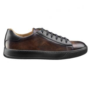 Santoni Apache CB3 Sneakers Dark Brown Image