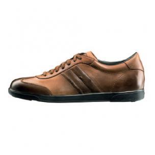 Santoni Bonito Baby Calfskin Sneakers Brown Image