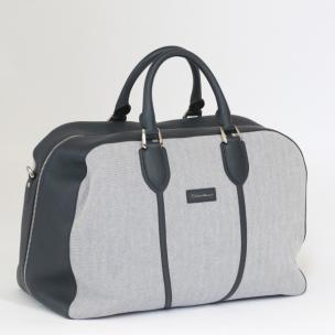 Santoni Canvas Weekender Bag Image