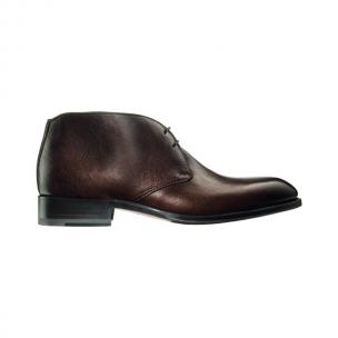 Santoni Cedric 2 Calfskin Ankle Boots Brown Image