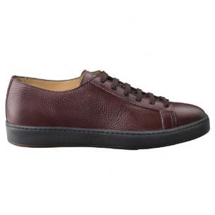 Santoni Cleanic W4 Sneaker Burgundy Image