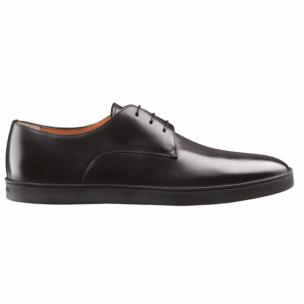 Santoni Doyle 1 Calfskin Sneakers Black Image