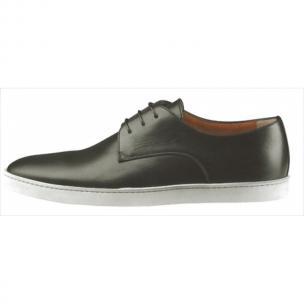 Santoni Doyle N1 Calfskin Sneakers Black Image