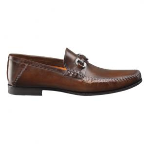 Santoni Egan Bit Loafers Brown Image