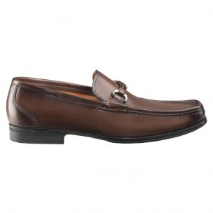 Santoni Evan Bit Loafers Brown Image