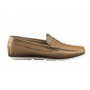 Santoni Tanton P6 Pebble Grain Driving Shoes Image