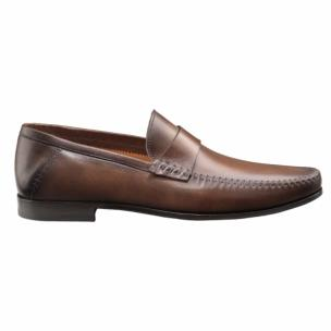 Santoni Shoes Paine Strap Loafers  Image