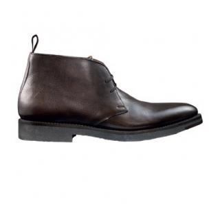 Santoni Que Goodyear Welted Chukka Boot Dark Brown Image