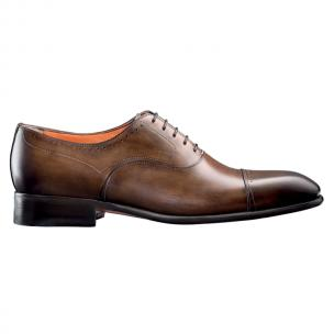 Santoni Thurman Hand Antiqued Cap Toe Oxford Image
