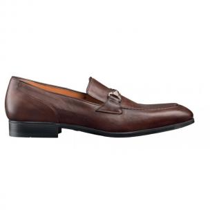Santoni Wallace Buckle Loafers Image